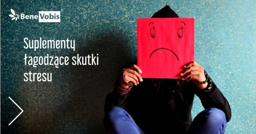 Suplementy łagodzące skutki stresu