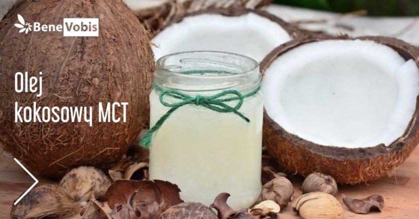 Olej MCT z kokosa - najlepsze źródło średniołańcuchowych kwasów tłuszczowych