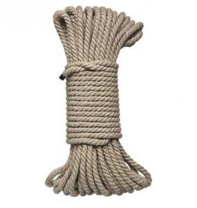 Kink Hogtied - Bind & Tie - 6mm Hemp Bondage Rope 50 Feet