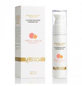 YESforLOV Allover Lubricating Massage Gel Peach Apricot 50 ml
