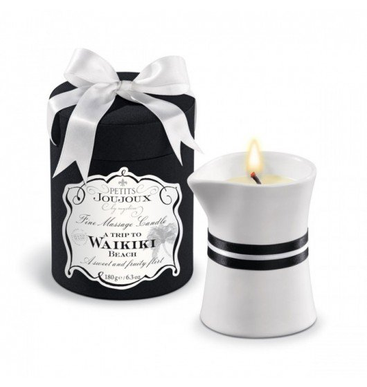 Petits Joujoux Fine Massage Candles - A trip to Waikiki Beach (190 g)