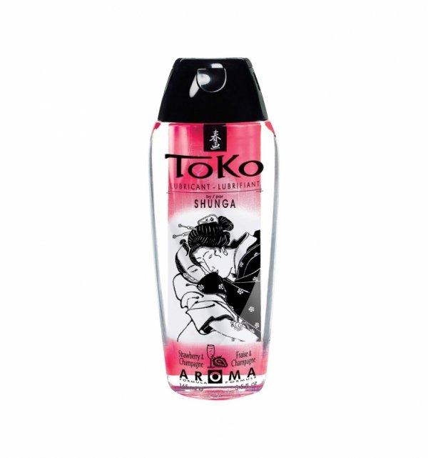 Shunga - Toko Lubricant Strawberry 165 ml