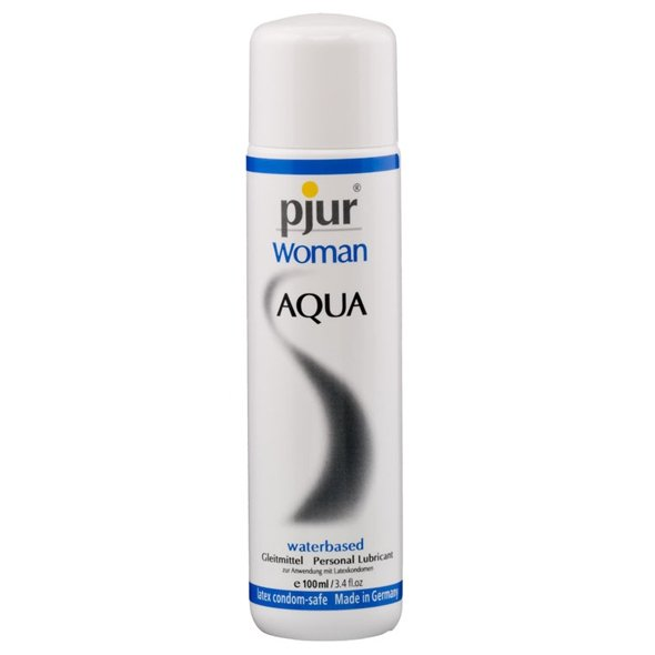 pjur Woman Aqua Bottle 100 ml - lubrykant wodny