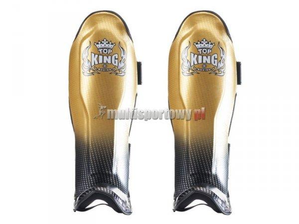 Ochraniacze piszczela i stopy TKSGSS-01GD SUPER STAR Top King
