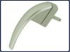 Klamka okienna Roto Swing secustik Srebrna R011 43mm