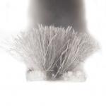 Uszczelka szczotkowa wsuwana 4,8x4mm szara 1m
