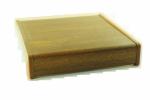 Parapet wewnętrzny plastikowy PCV złoty dąb 500mm 1mb