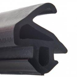 Uszczelka do okien Aluplast S Czarna S1559 1m.