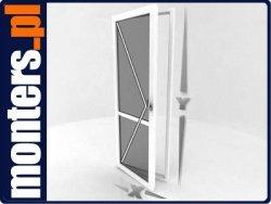 Drzwi balkonowe R 865x2195 lewe białe EKOSUN