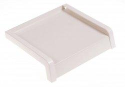 Parapet zewnętrzny stalowy blaszany biały 150mm 1mb