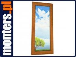 Drzwi PCV 865x235 Veka Alphaline UR PR złoty dąb