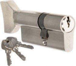 Wkładka z gałką CAM EKO 25/35 G nikiel zamka drzwi