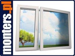 Okno PCV 1440x1410 SCHUCO R+UR niesymetryczne