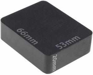 Podkładki 66x53x20mm montażowe obciążenia 100szt