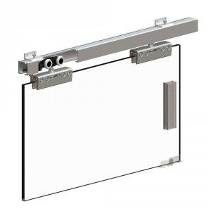 Zestaw do drzwi szklanych przesuwnych HERKULES GLASS