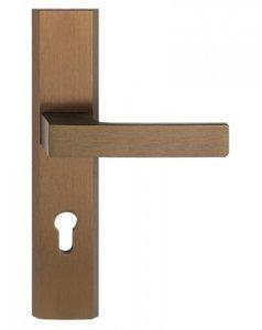 Klamka do drzwi bezpieczna TOTAL PATYNA PRAWA 72mm