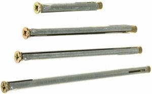 Kotwa łącznik do ościeżnic drzwi KO 10x132 100szt