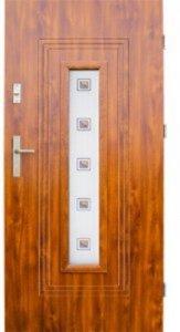 Drzwi wejściowe zewnętrzne Wikęd Premium wzór 6