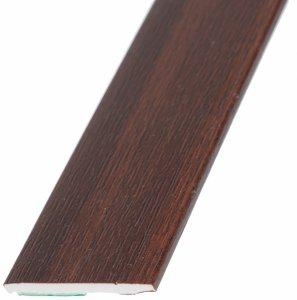 Płaskownik 30mm samoprzylepny mahoń 3m okienny