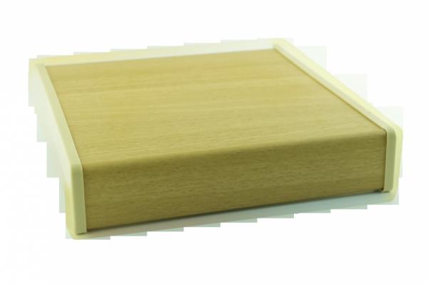 Parapet wewnętrzny plastikowy PCV olcha 350mm 1mb