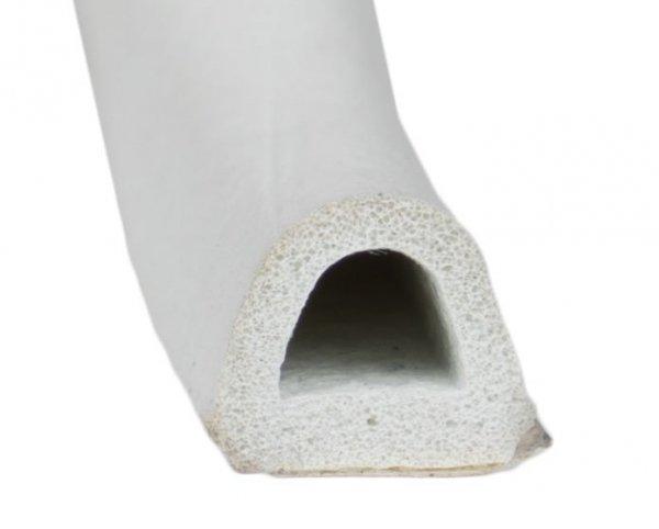 Uszczelka D 9x7,4 samoprzylepna biała (SD-1) 1m.