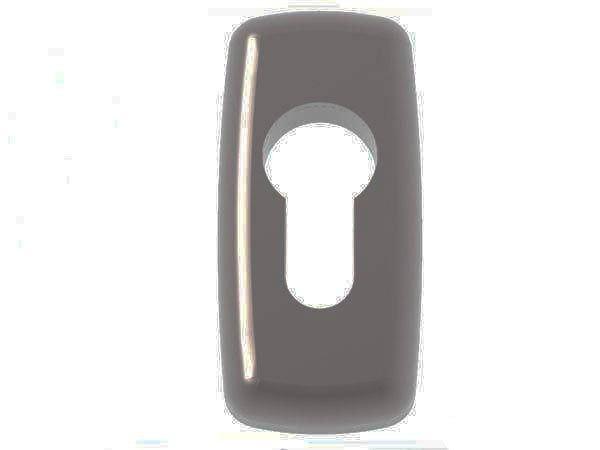 Rozeta Mercury pod wkładkę do drzwi antracyt 7016