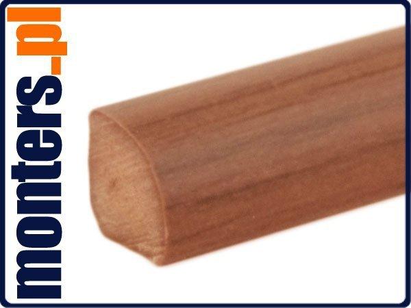 Ćwierćwałek listwa do okien 14x14mm mahoń 106 2,5m