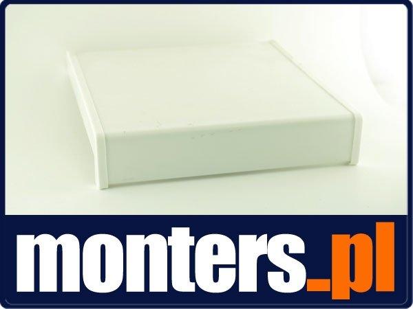 Parapet wewnętrzny plastikowy PCV biały 200mm 1mb