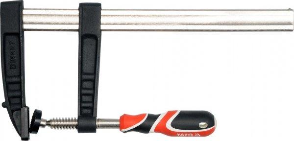 Ścisk stolarski zacisk MOCNY 300x80mm YATO 6447