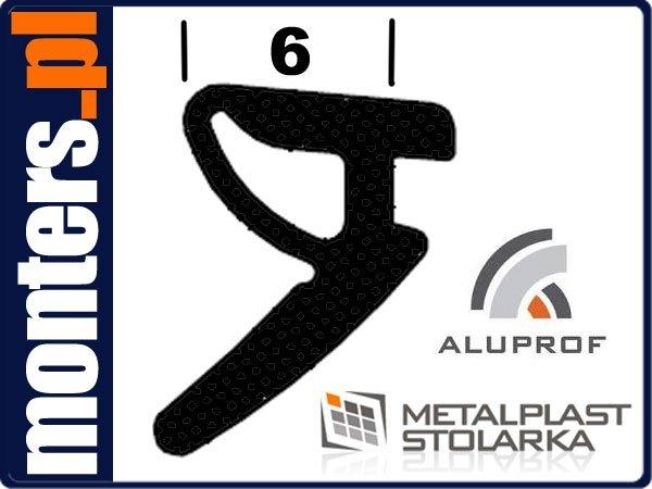 Uszczelka do drzwi okien aluminiowych aluprof 540 (REG14) 1m