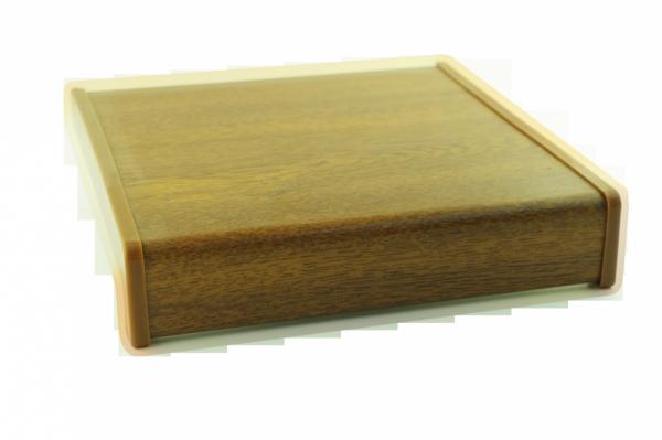 Parapet wewnętrzny plastikowy PCV złoty dąb 200mm 1mb