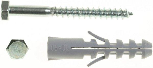 WX12+KL8X120/100 Kołek rozporowy WX+wkręt na klucz