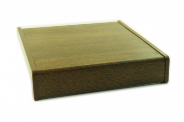 Parapet wewnętrzny plastikowy PCV orzech 500mm 1mb
