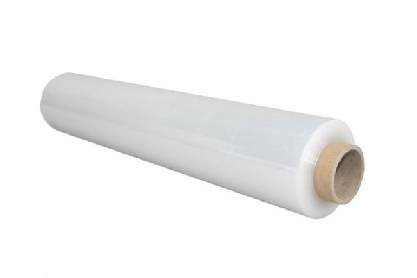 Folia strecz stretch 2,5kg transparent bezbarwna