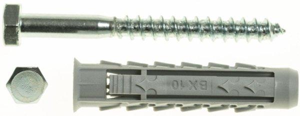BX12+KL8X60/50 Kołek rozporowy BX+wkręt na klucz