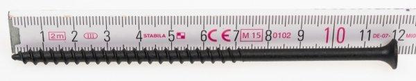 Wkręty czarne płyt gk karton gips/drewn 4,8x120 100szt. NGc