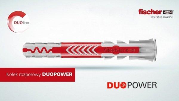 Kołki Fischer DuoPower koszulka kołek 10x50 50szt