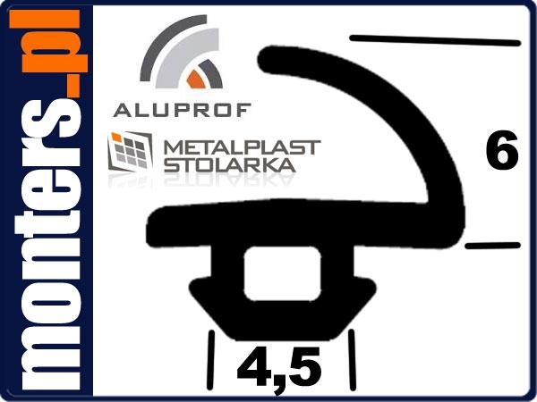 Uszczelka do drzwi okien aluminiowych aluprof 553 1m
