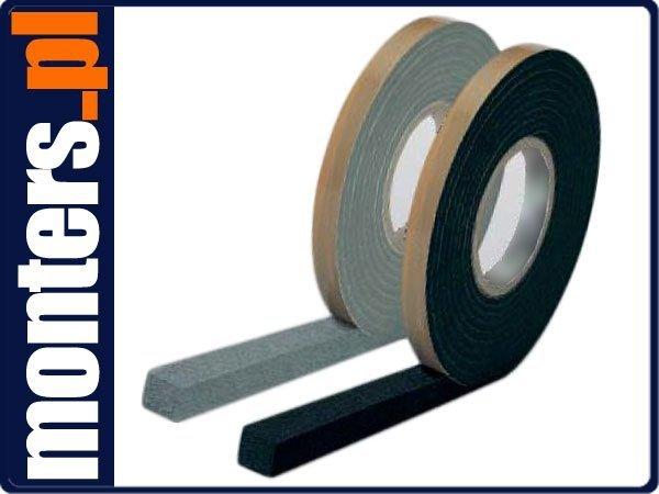 Taśma rozprężna Integra DB 15x3-15mm 20m szara/czarna