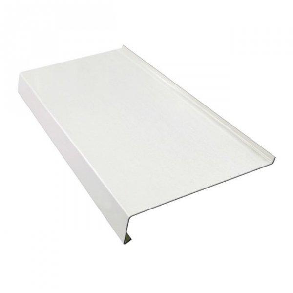 Parapet zewnętrzny stalowy blaszany biały 300mm 1mb