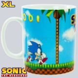 [MUG-62] Sonic™ Oryginalny Kubek Green Hills Level XL 460ml