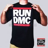 [TSH-17] Run DMC™ T-shirt Koszulka Logo Classic Black XL