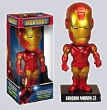[CAF-24] Iron Man™ 2 Mark VI Kolekcjonerska Figurka Bobble Head Box
