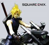 [CAF-06] Final Fantasy VII™ Figurka Cloud Strife & Hardy Daytona Zestaw