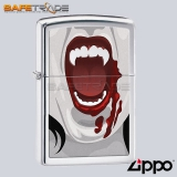 [ZIP-80] Unikalna Zapalniczka Zippo™ Vampiress Polished Chrome