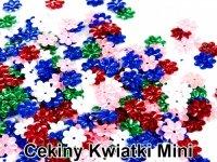 Cekiny Kwiatki Mini