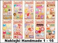Naklejki Handmade 1-16