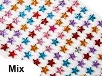 Kryształki GWIAZDKI 8mm Mix [10 Blistrów]