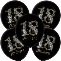 Balony 18 Brilliant [Komplet - 5 opakowań]