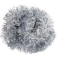 Łańcuch Cienki Srebrny 2m [ Zestaw 10 sztuk]